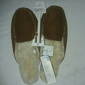 Gilligan & OMalley slippers NWT suede
